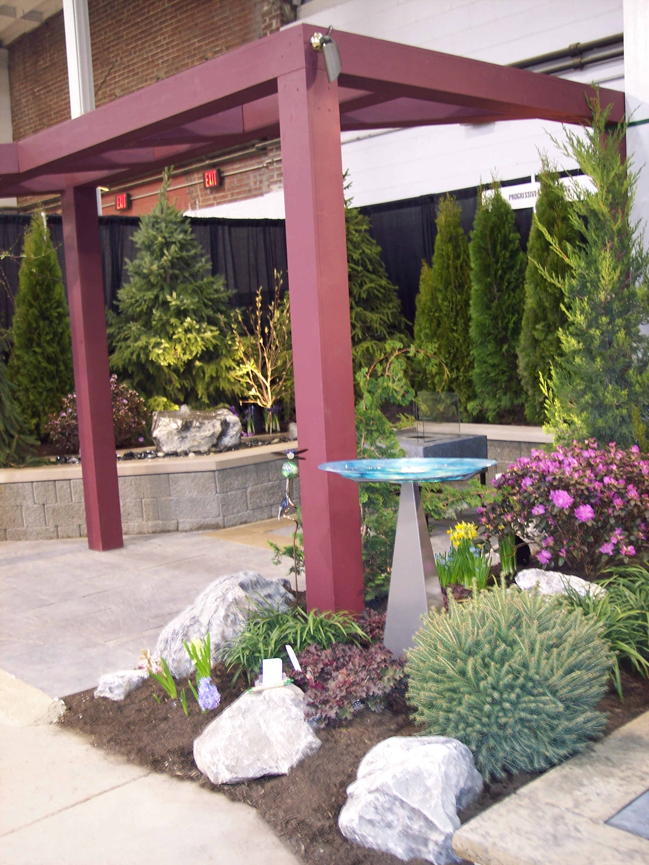 A View Into Our Garden at the 2010 Flower and Patio Show