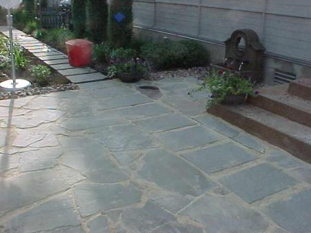 Flagstone Patio 2 Pictures To Pin On Pinterest
